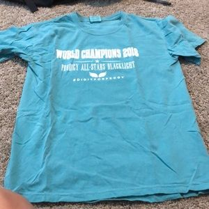Prodigy Allstars Blacklight World Champion Shirt